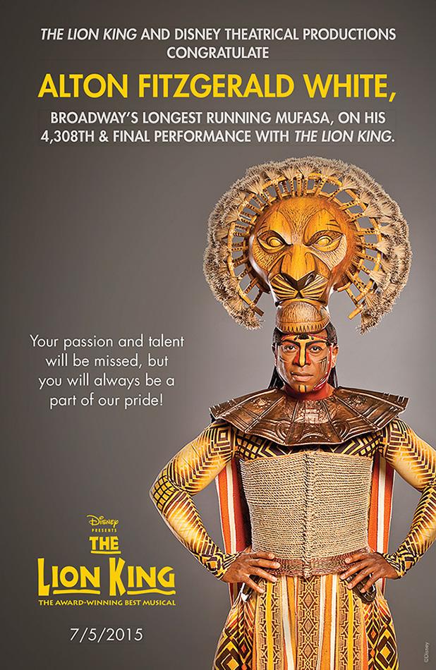 Alton Fitzgerald White | The Lion King