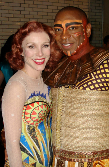 Alton Fitzgerald White with Charlotte D'Amboise