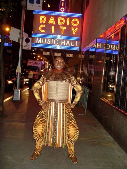 Alton Fitzgerald White at Radio City Music Hall for the 2013 Tony Awards
