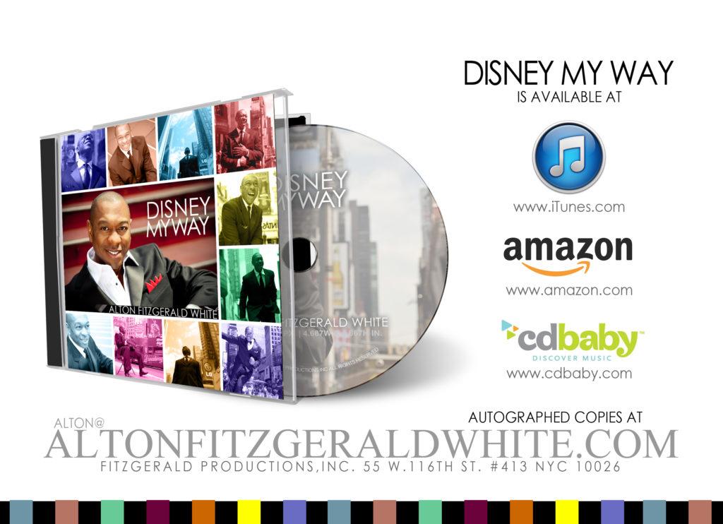Disney My Way!   Alton Fitzgerald White
