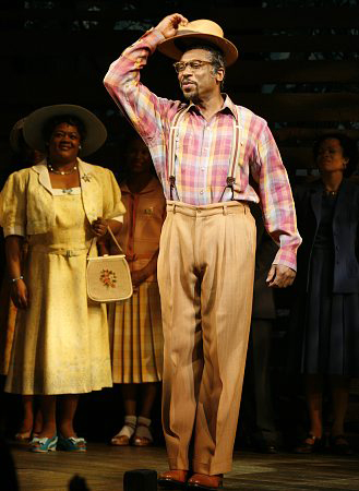 Alton Fitzgerald White as Mister in The Color Purple