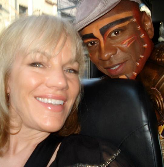 Alton Fitzgerald White with Brenda O'Brien